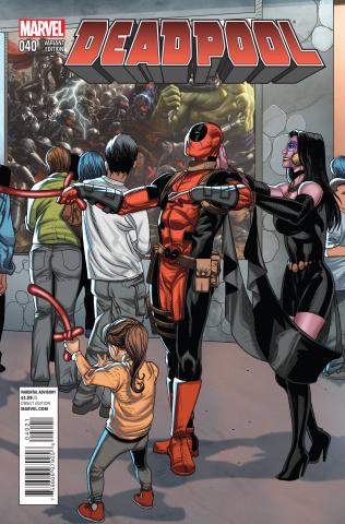 Deadpool #40 (Larroca Welcome Cover)