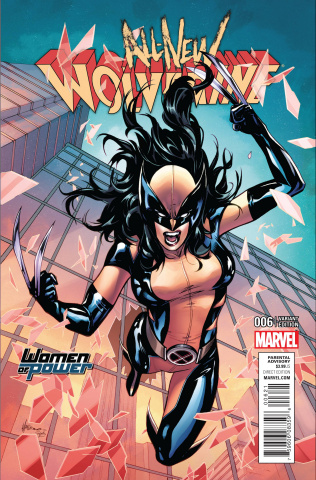 All-New Wolverine #6 (Del Rey Cover)