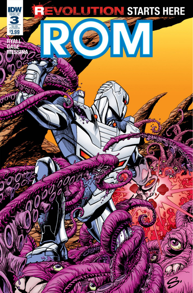 ROM #3 (Subscription Cover)