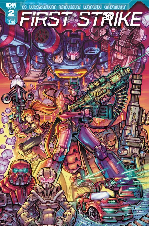First Strike #2 (Duenas Cover)