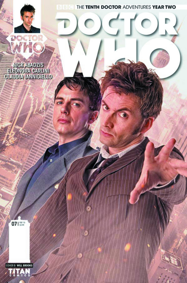 Doctor Who: New Adventures with the Tenth Doctor, Year Two #7 (Photo Cover)