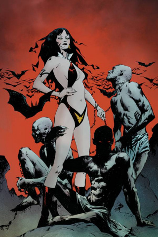 Vampirella: The Dark Powers #1 (21 Copy Lee Vampi Demons Cover)