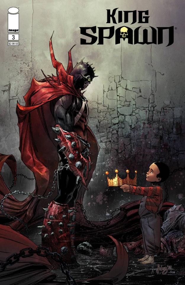 King Spawn #3 (Fernandez Cover)