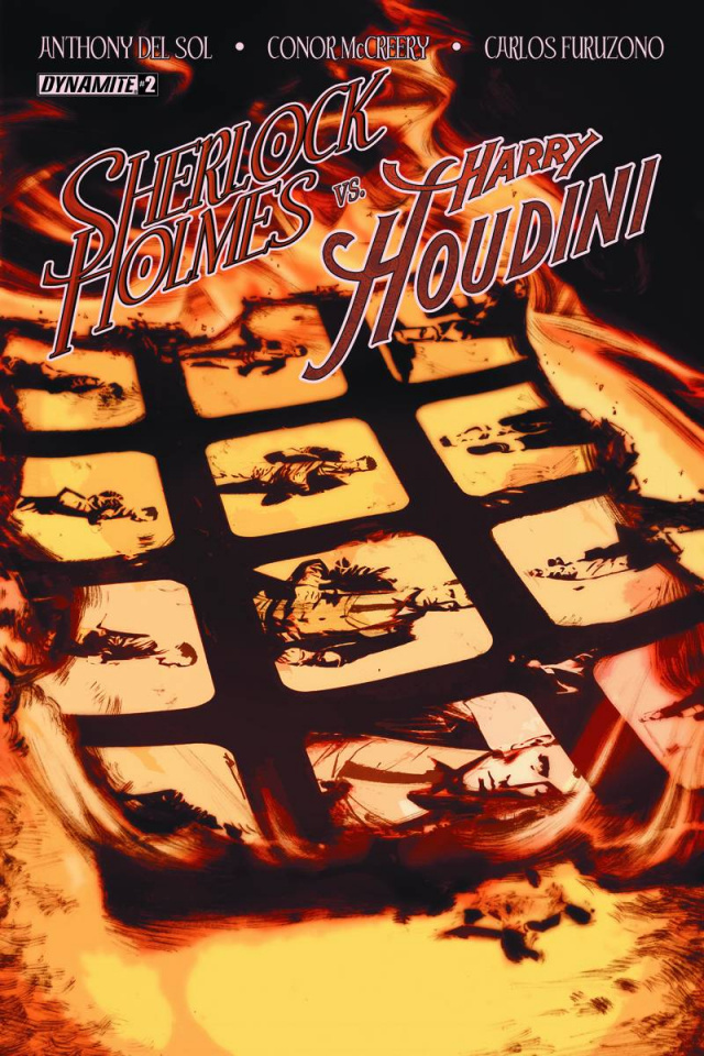 Sherlock Holmes vs. Harry Houdini #2 (Campbell Cover)