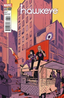 All-New Hawkeye #3 (Ferry NYC Cover)