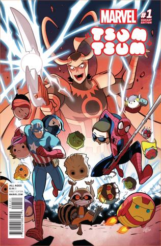 Marvel Tsum Tsum #1 (Gurihiru Cover)