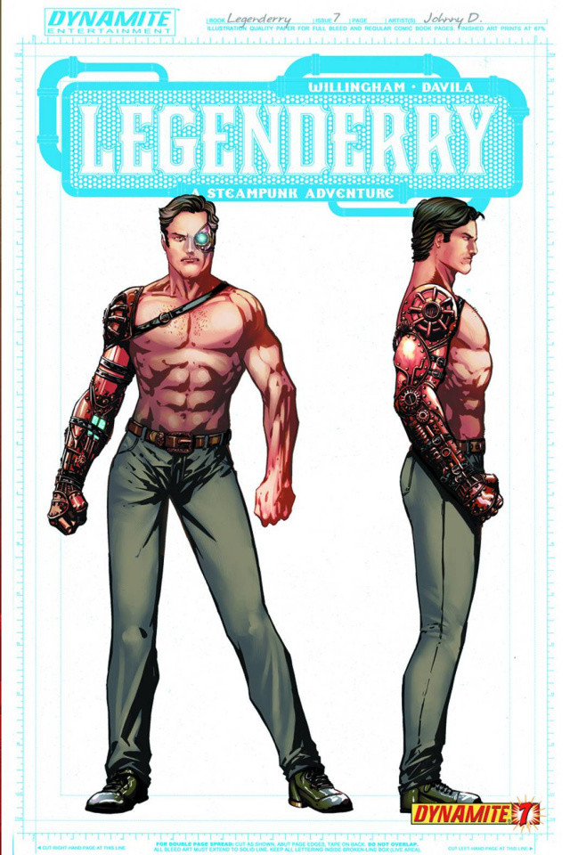 Legenderry: A Steampunk Adventure #7 (50 Copy Concept Cover)