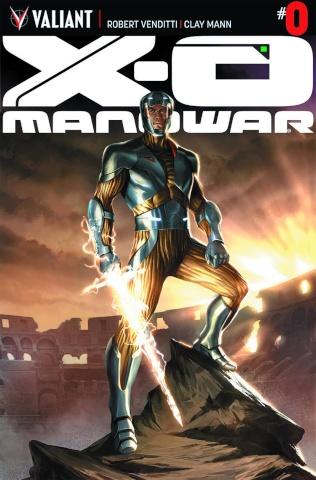 X-O Manowar #0 (Kevic-Djurdjevic Cover)