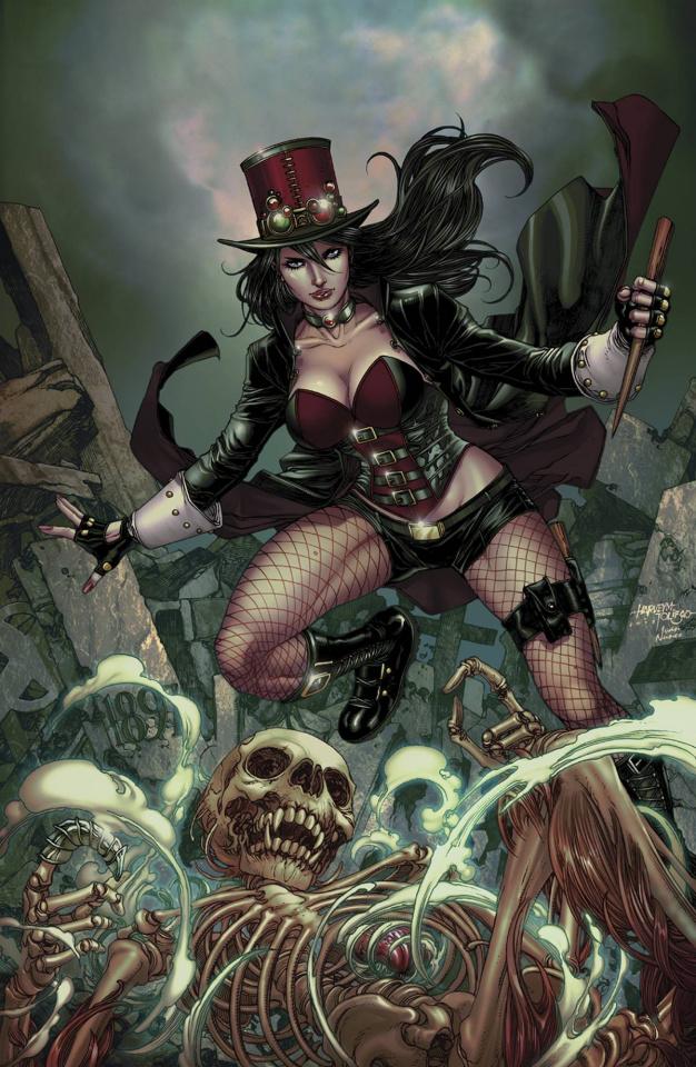 Grimm Fairy Tales: Van Helsing vs. Dracula #3 (Tolibao Cover)