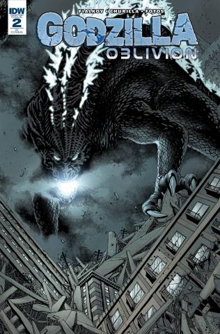 Godzilla: Oblivion #2 (10 Copy Cover)