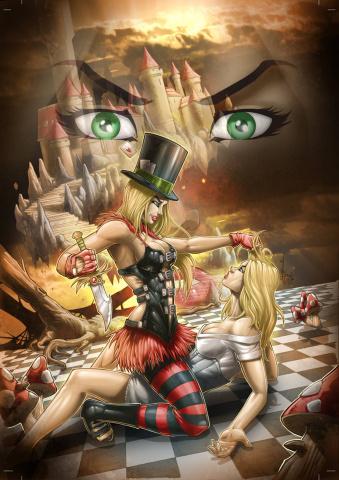Grimm Fairy Tales: Wonderland #31 (El Tabanas Cover)