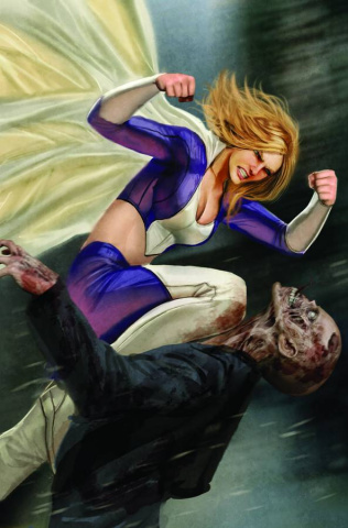 Grimm Fairy Tales: Zombies - Cursed #3 (Sejic Cover)