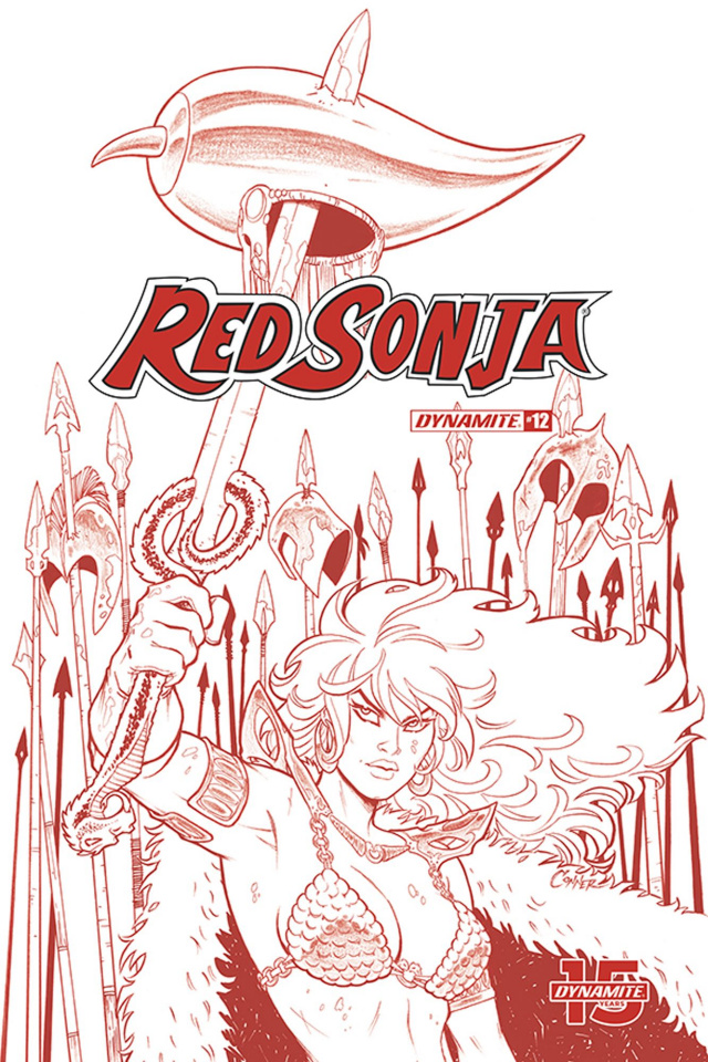 Red Sonja #12 (21 Copy Conner Tint Dressed Cover)