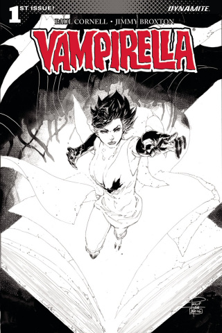 Vampirella #1 (20 Copy Tan B&W Cover)