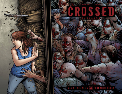 Crossed: Badlands #90 (Wrap Cover)