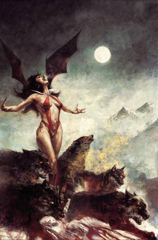 Vampirella #21 (Mastrazzo Virgin Cover)