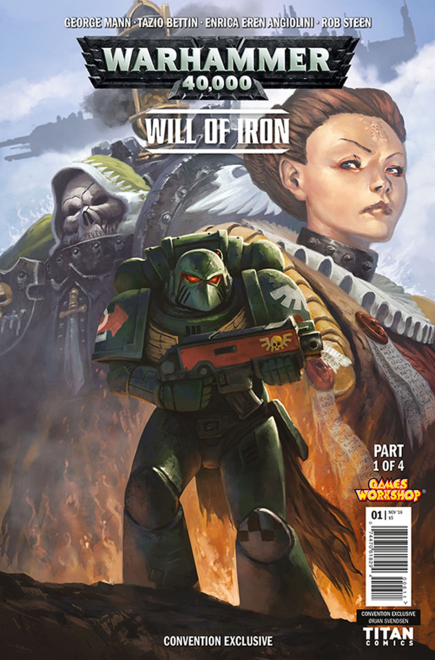 Warhammer 40,000: Will of Iron #1 (NYCC Cover)