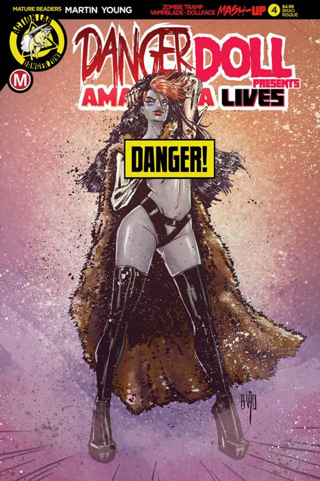 Danger Doll Squad Presents: Amalgama Lives #4 (Action Figure Cover)