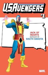 U.S.Avengers #1 (Reis South Dakota State Cover)