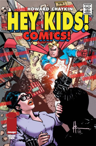 Hey Kids! Comics! #2 (CBLDF Charity Censored Cover)