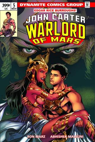 John Carter: Warlord of Mars #5 (Lupacchino Cover)
