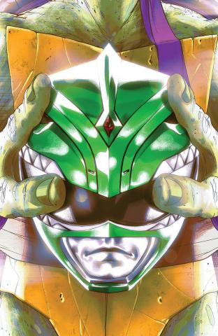 Power Rangers / Teenage Mutant Ninja Turtles #5 (25 Copy Cover)