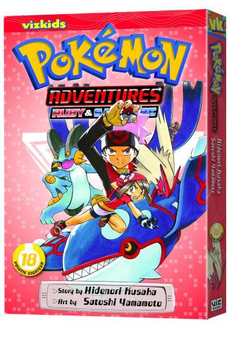 Pokemon Adventures Vol. 18