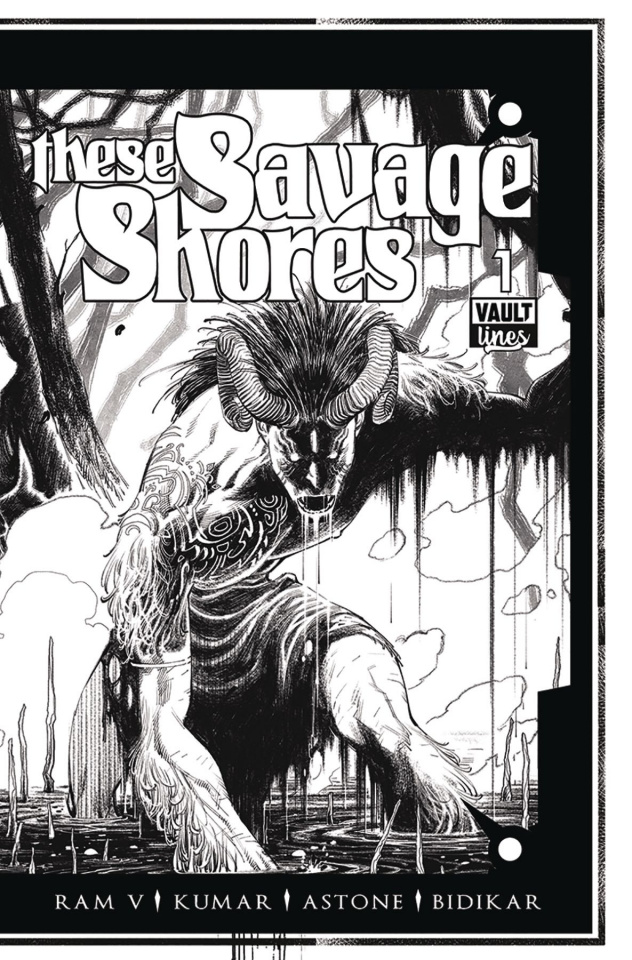 These Savage Shores #1 (B&W Cover)