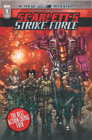 Scarlett's Strike Force #1 (Tolibao Cover)