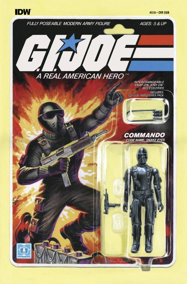 G.I. Joe: A Real American Hero #219 (Subscription Cover)