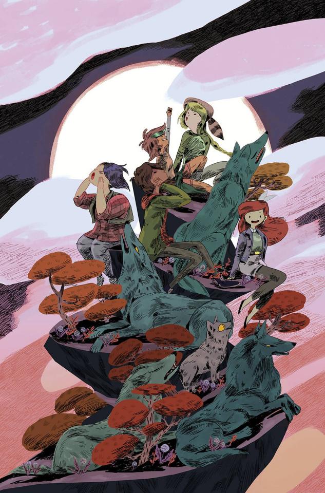 Lumberjanes: Beyond Bay Leaf #1 (20 Copy Eskelinen Cover)