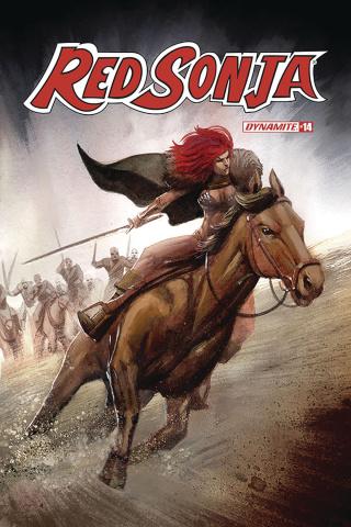 Red Sonja #14 (Bob Q Cover)