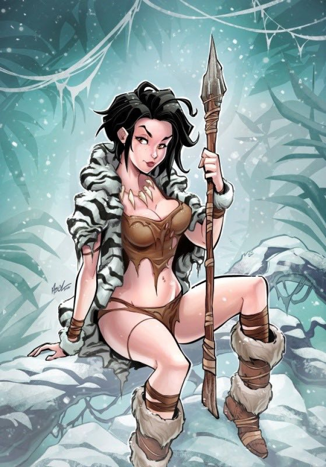 Grimm Fairy Tales: The Jungle Book 2016 Holiday Special (Abel Cover)