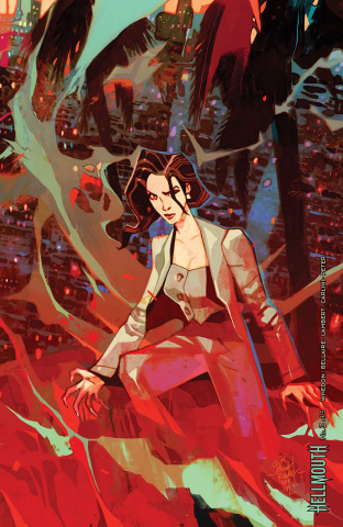 Buffy the Vampire Slayer / Angel: Hellmouth #3 (Connecting Reb Cover)