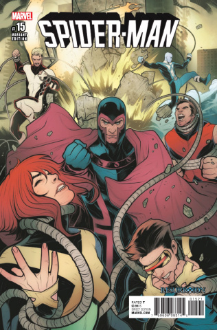Spider-Man #15 (Torque ResurrXion Cover)