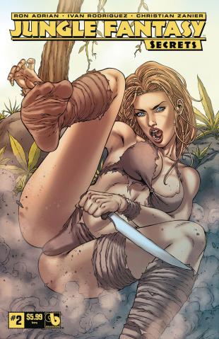 Jungle Fantasy: Secrets #2 (Ivory Cover)