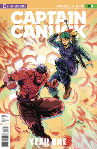 Captain Canuck, Year One #3 (Virgin Art Cover)