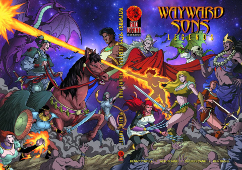 Wayward Sons Vol. 4