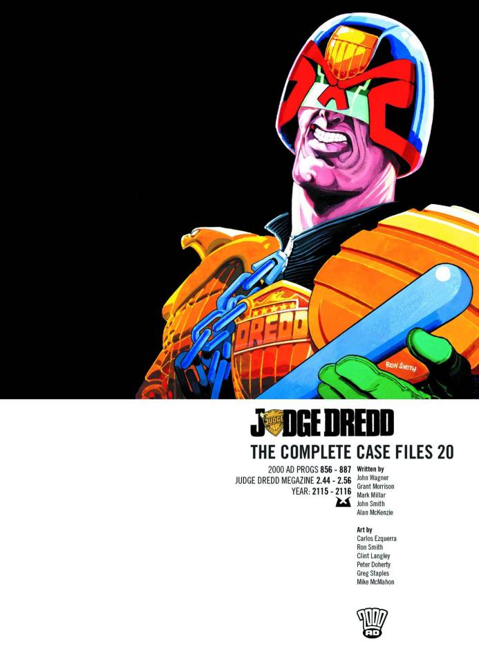 Judge Dredd: The Complete Case Files Vol. 20