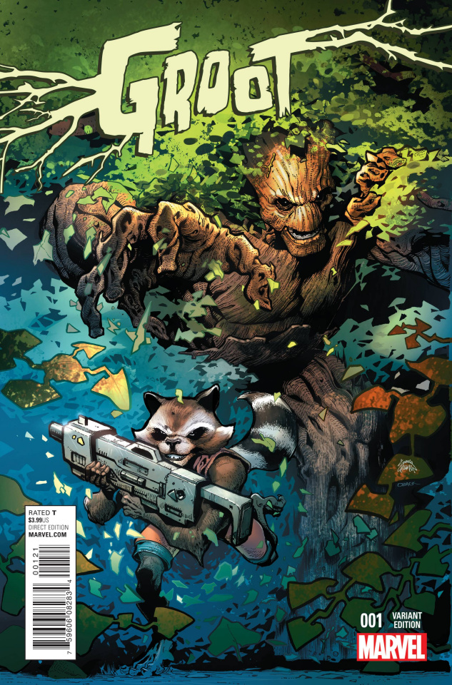 Groot #1 (Stegman Cover)