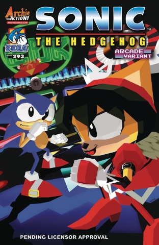 Sonic the Hedgehog #293 (Spaziante Cover)