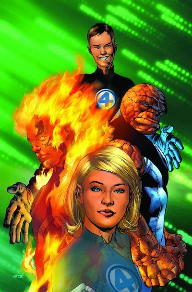 Ultimate Fantastic Four #1 (Marvel's Greatest Comics)