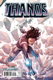 Thanos #6 (Luppachino ResurrXion Cover)