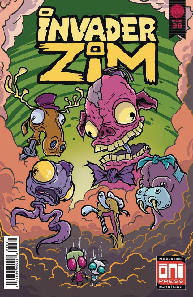 Invader Zim #36 (Sornig Cover)