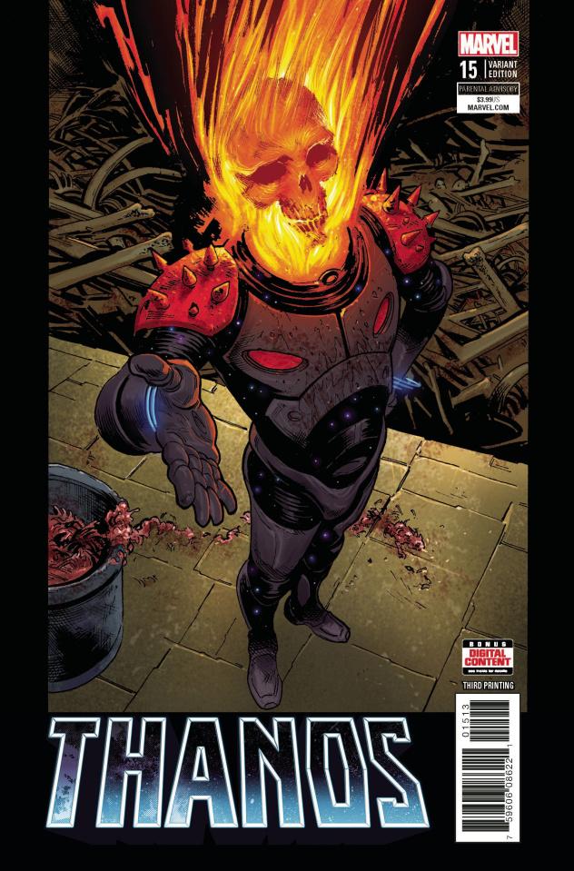 Thanos #15 (Shaw 3rd Printing)