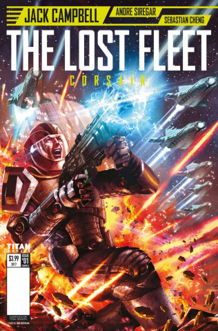 The Lost Fleet: Corsair #1 (Bertolini Cover)