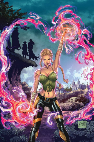 Grimm Fairy Tales Presents Quarterly: Darkwatchers #1 (Salazar Cover)