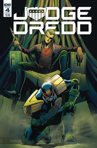Judge Dredd: Under Siege #4 (Dunbar Cover)