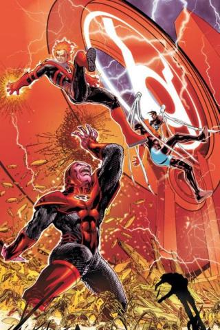 Red Lanterns #9