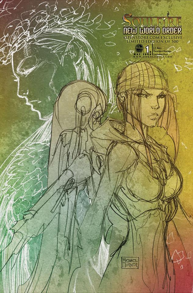 Soulfire: New World Order #1 (Aspenstore 2009 Cover)